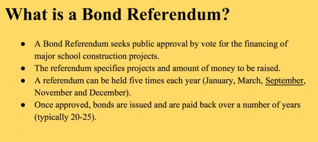 what is a bond referendum