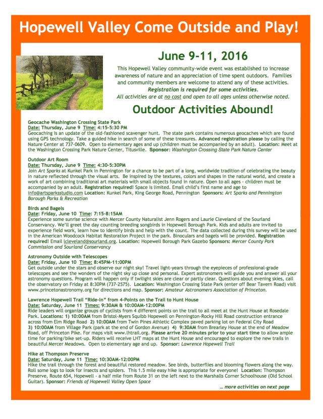 HV Come Outside and Play Activities_2016