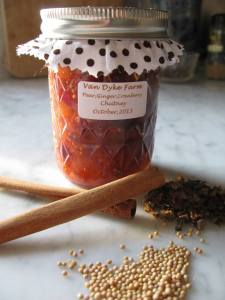 One of Emily prize winning chutneys