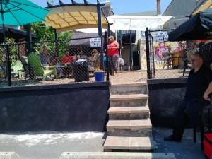 """Cool Kids Lounge"" aka"" VIP section"" at the Trenton Social"