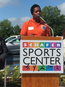 Shannon Schafer, President and COO of Schafer Sports Center