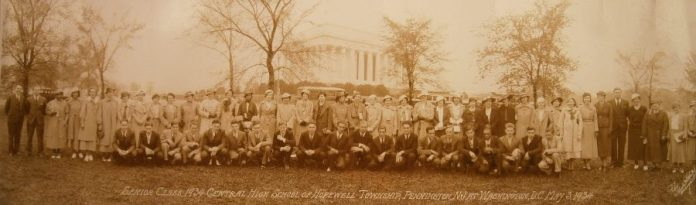 Historic Class Photo Comes Home to Hopewell Valley Central High School