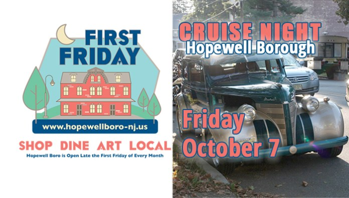 Hopewell Boro Announces October Cruise Night and Business Email List