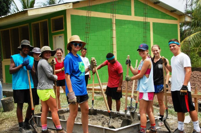 LHS Students Building Schools in Honduras, One At A Time