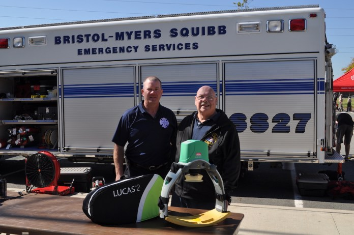 Hopewell Township Fire District Gets Grant from Bristol-Myers Squibb