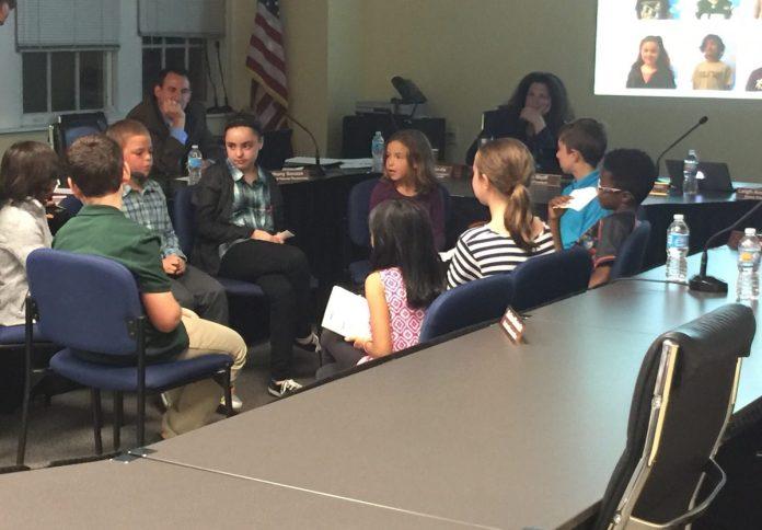 Bear Tavern's STEM Students Amaze Hopewell's Board of Education