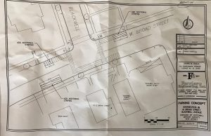 pedestrian safety crosswalk map hopewell borough