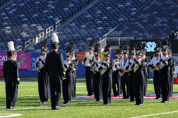 Hopewell's Marching Black and Gold Takes First Place Honors at Yamaha Cup Competition