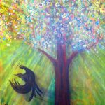 tree-and-black-bird