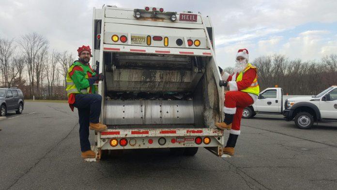 Pennington Public Works Celebrates the Holidays