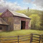 Bowman's Tower Barn by Joe Kazimierczyk