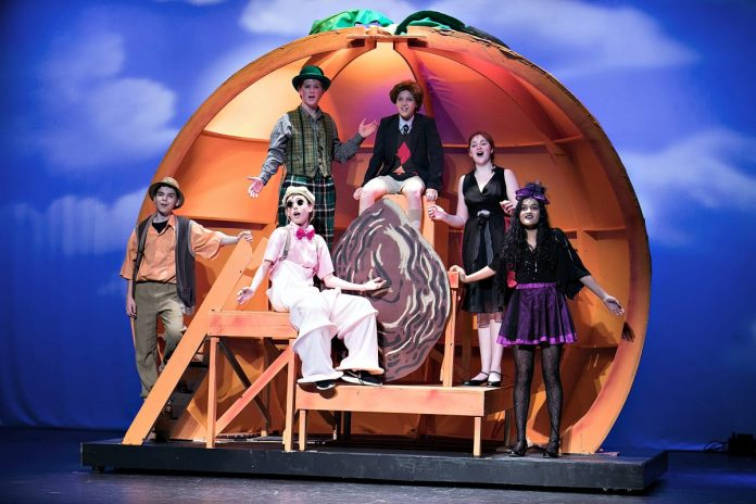 Timberlane Middle School Presents James and the Giant Peach Jr.