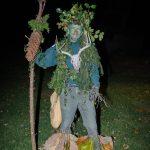 Phil Getty as The Green Man, Masquerade Ball 2016