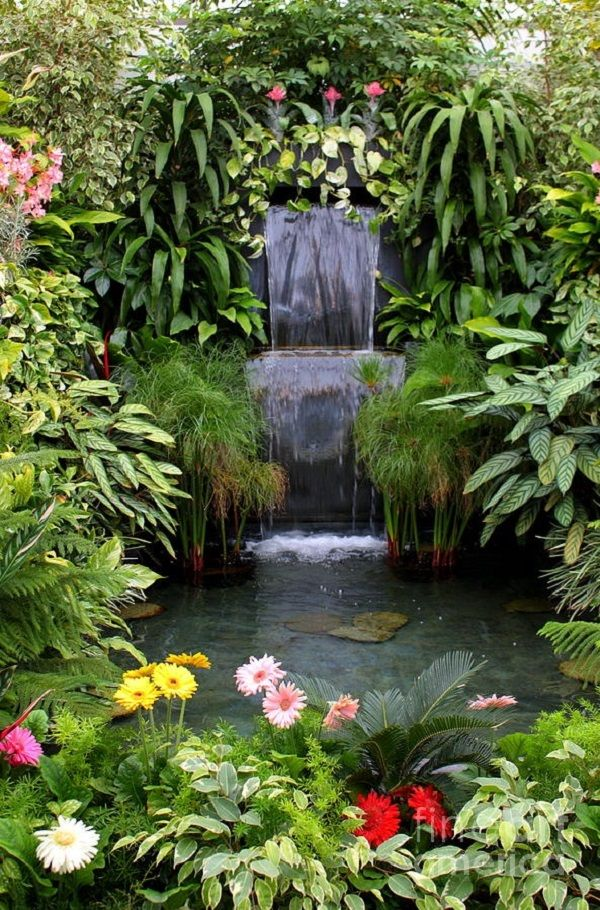 ... Rutgers Master Gardeners of Mercer County, presents a program, Water,  Water Everywhere and not a Drop to Waste: Water Features in the Home  Landscape, ...