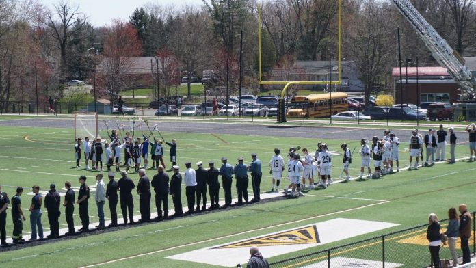 HVCHS Boys Lacrosse Hosts Tribute to Heroes Game