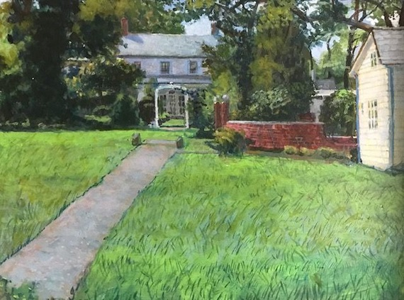 Summer Landscape Painting at Morven with Charles Viera