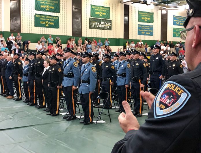 Mercer County Police Academy Graduates 21st Class of Police Officers