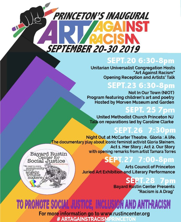 Princeton's Inaugural Art Against Racism– Opening Reception & Artists' Talks