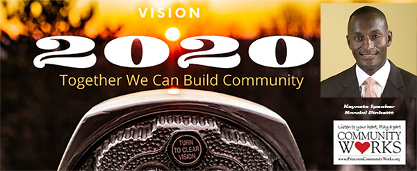 "Princeton Community Works  Annual Conference for Nonprofits ""Vision 20/20: Together We Can Build Community"""