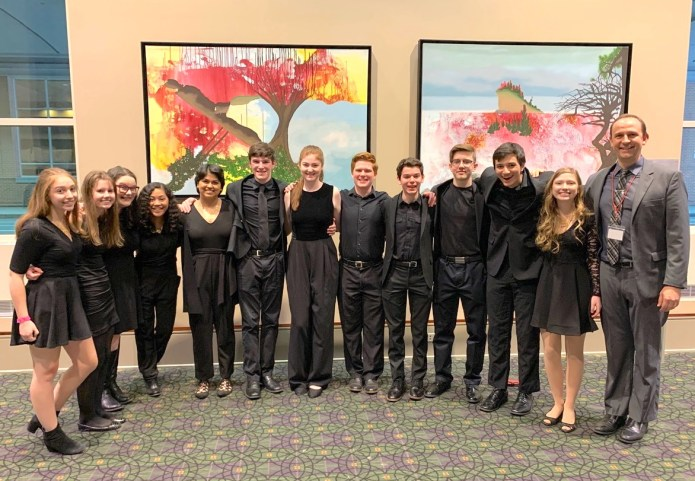 Hopewell Valley Central High School Choirs Win First Place at National Jazz Festival