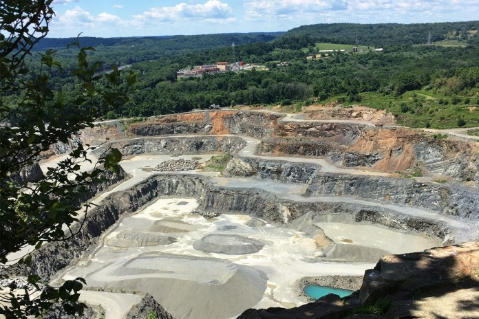 Mining quarry to be transformed into park in Hopewell Township, draft plan presented