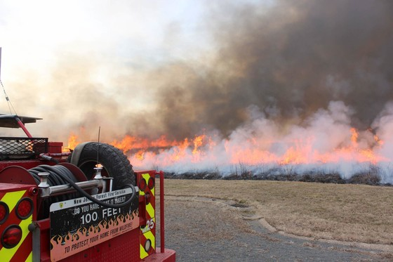 Mercer County Park Commission to conduct prescribed burn at Baldpate Mountain