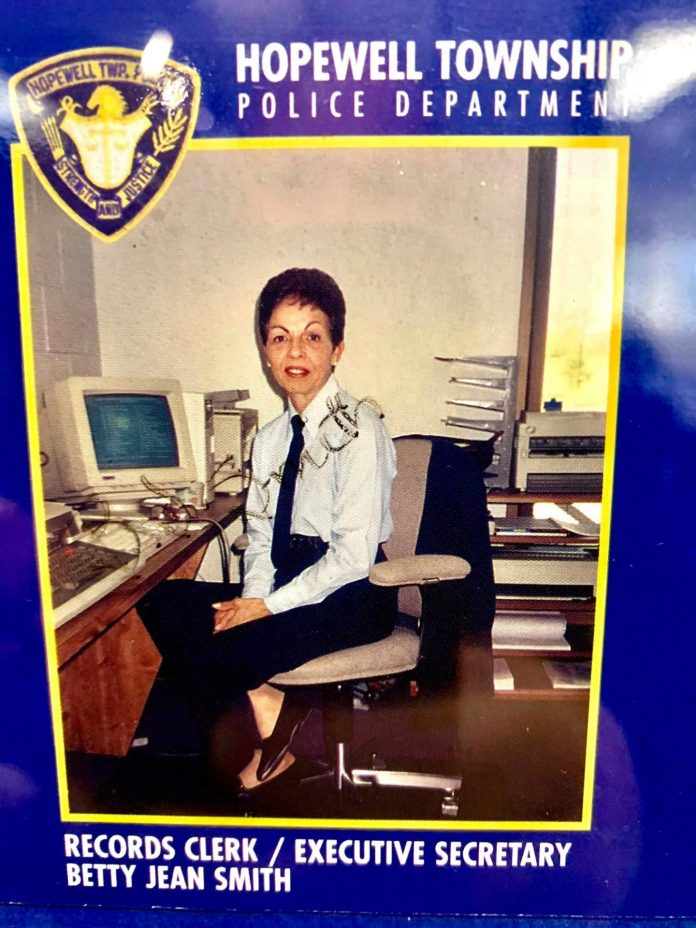In Memory of Betty Jean Smith