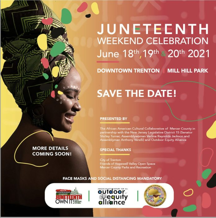 Juneteenth events in Hopewell and Trenton this weekend
