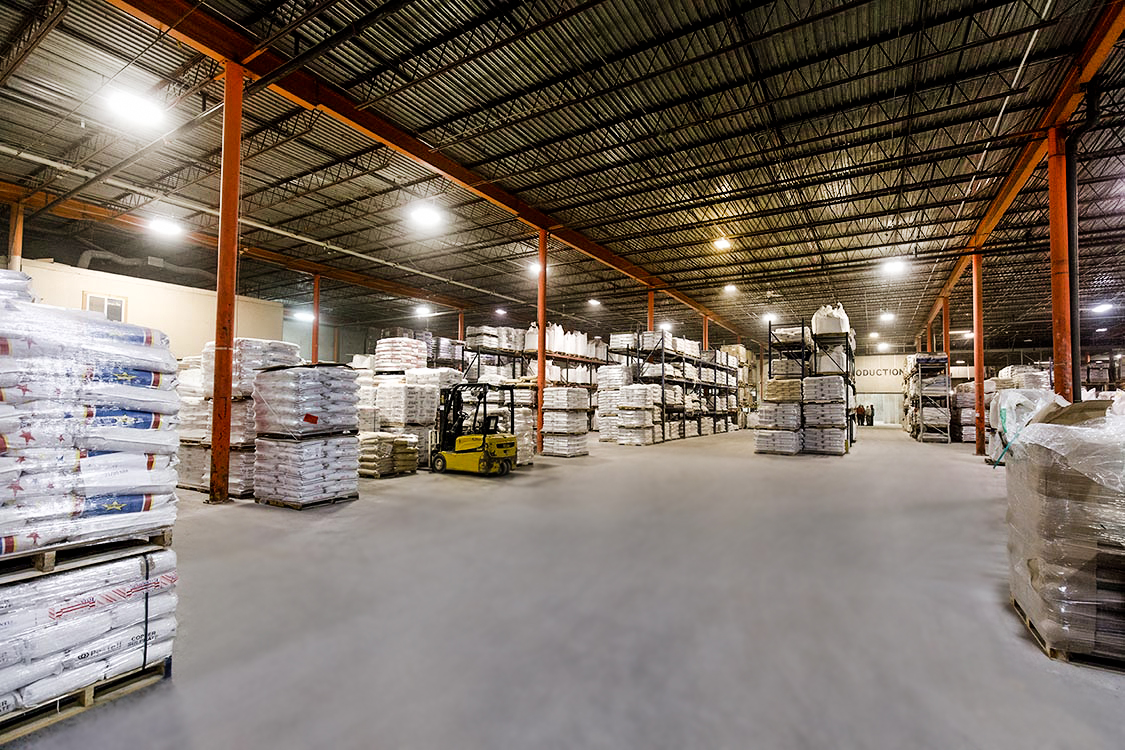 Mercer Milling Company Warehouse Products
