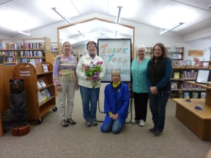 Volunteer at the Mercer Library