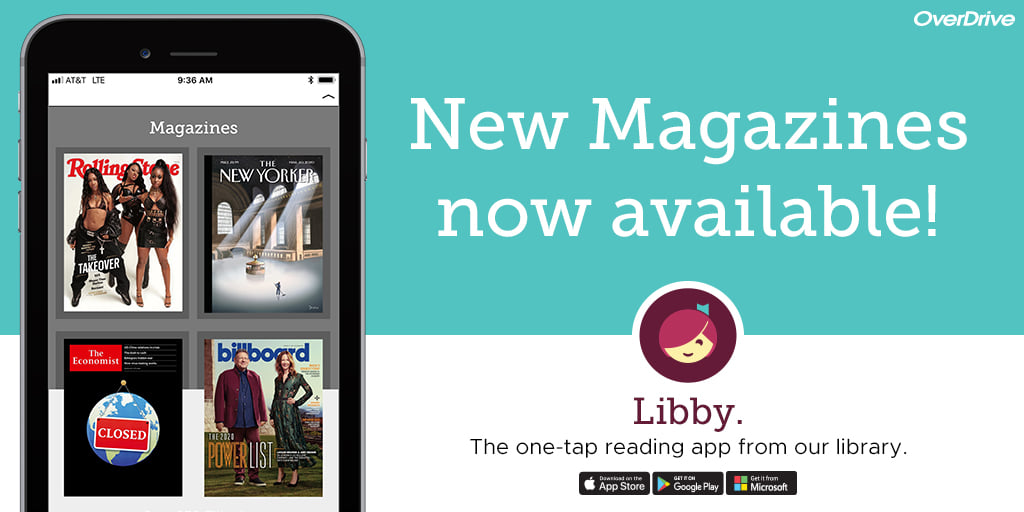 New Magazines now available on the Libby app - Wisconsin's Digital Library