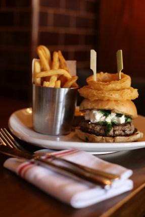 Lamb Burger B&B