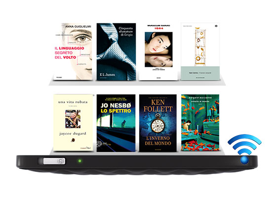 Milioni di eBook sono a portata di tocco