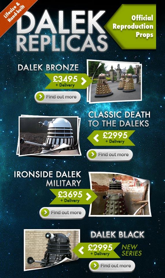 BBC On-line Shop Official Dalek Reproductions ...