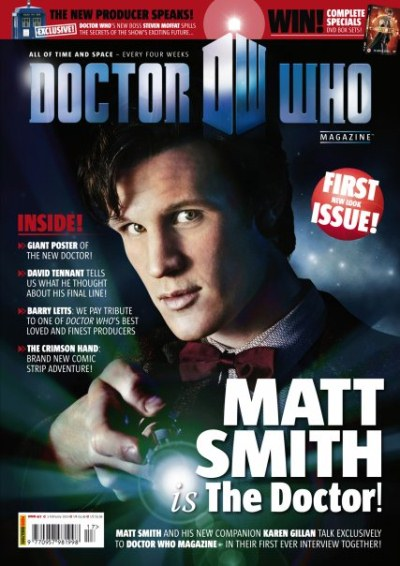 First Official 11th Doctor Image The Doctor Who Site News