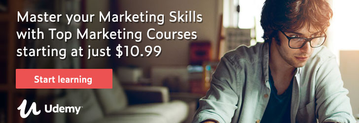 *Master your Marketing skills with Top Marketing Courses starting at just $10.99.