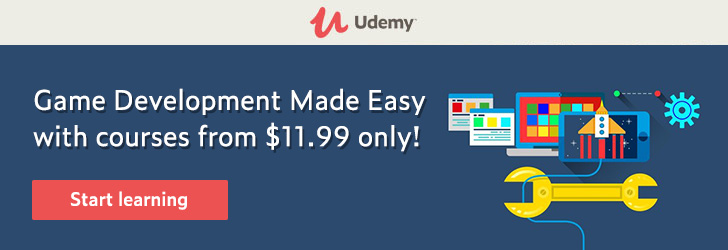 *Game Development Made Easy with courses from $11.99 only!