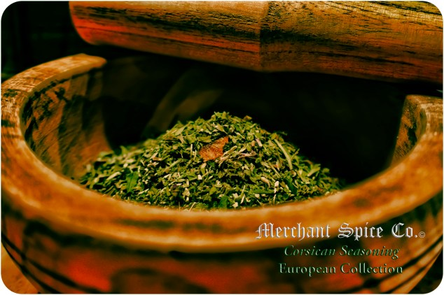 Corsican Seasoning from Merchant Spice Co.'s European Collection