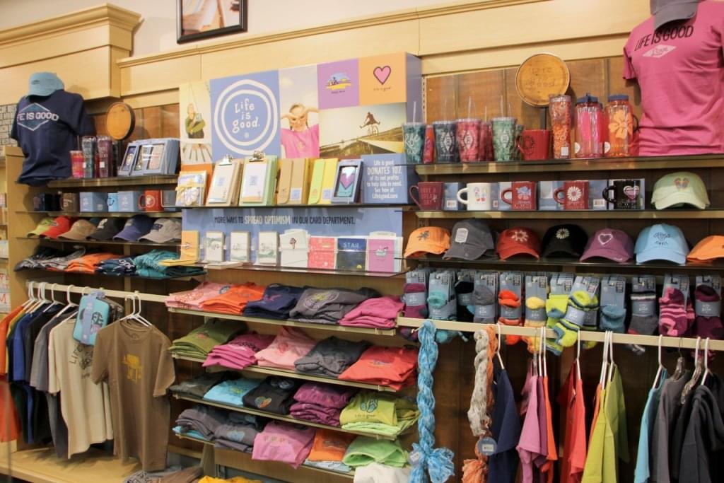Ruth's Hallmark Shop Voorhees NJ life is good apparel