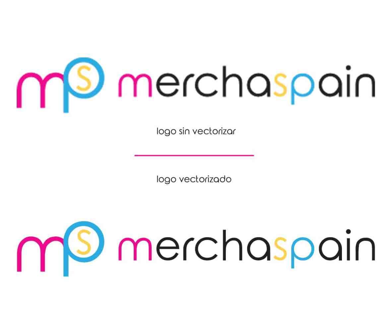 ¿Qué es un logotipo vectorizado? | Merchaspain, regalos personalizados con logotipos en Mallorca