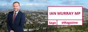 September Update from Ian Murray MP