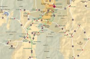 Boucle Taos-Sante Fe