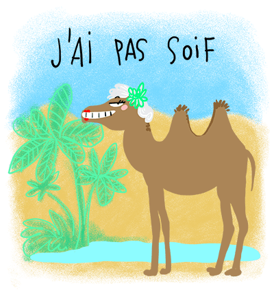 La soif en plein désert