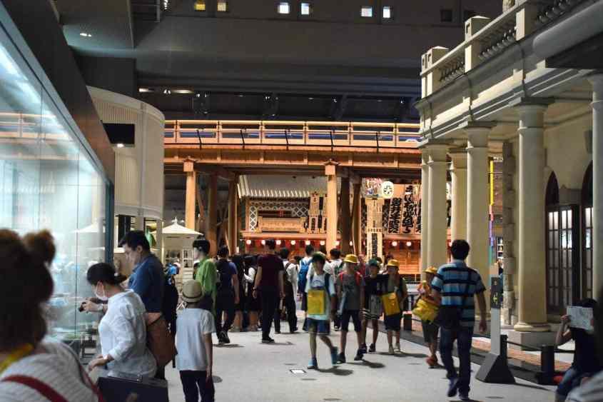 J'ai visité le musée Edo à Tokyo