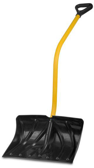 ergonomic snow shovel