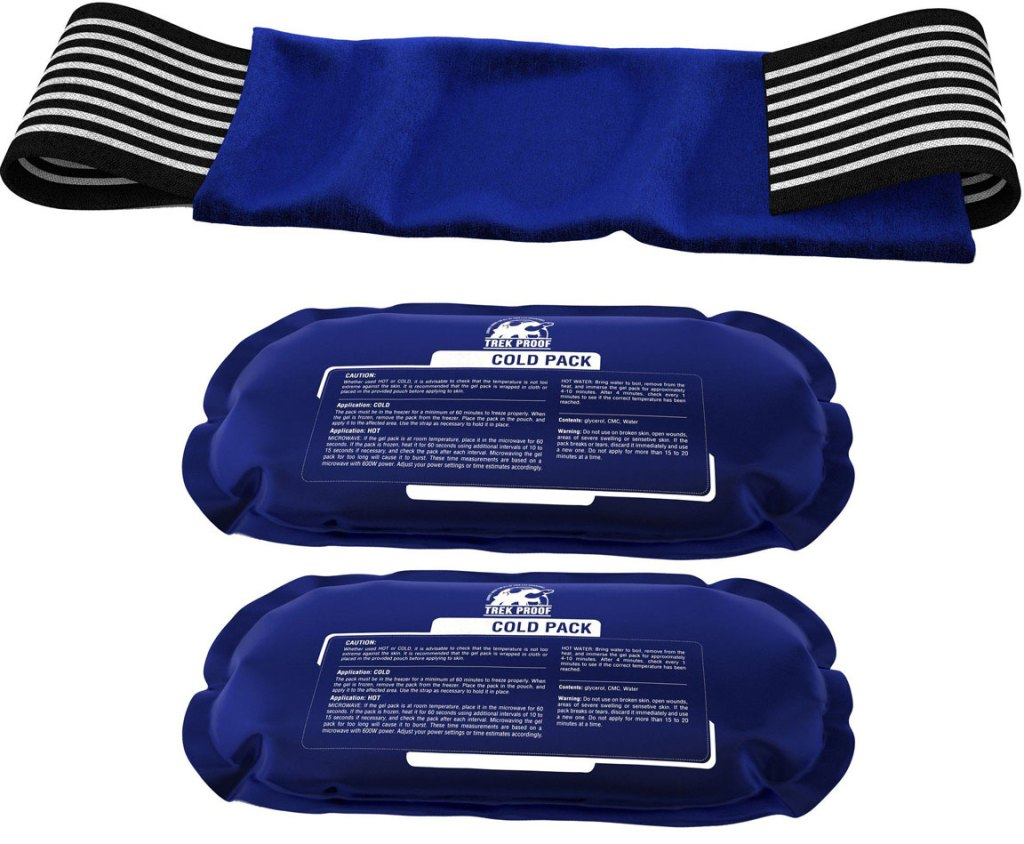 cold packs for chiropractic therapy