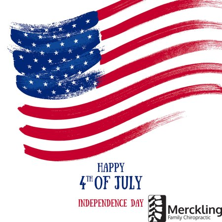 Happy 4th of July from Merckling Family Chiropractic