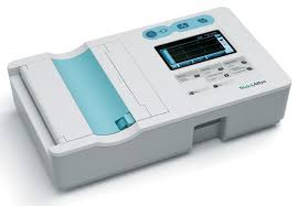 """CP 50 Plus - Interpretive 12-Lead Multichannel ECG, color touch screen display and 4"""" thermal Printer"""