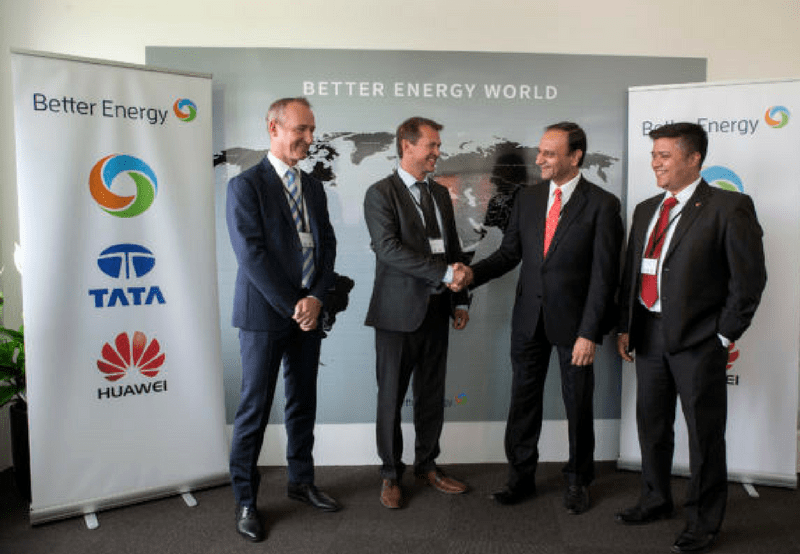Better Energy Tata Power Solar Huawei Partnership