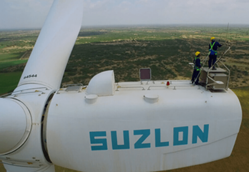 Suzlon's Outstanding Debt Reaches ₹127.85 Billion